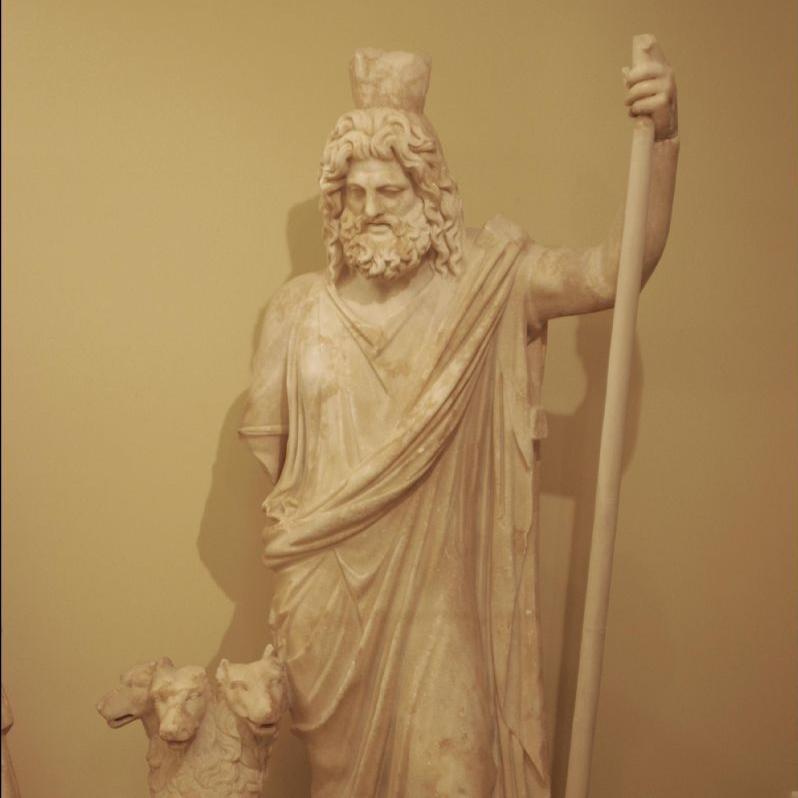 Mısır Tanrısı Serapis'in batı uyarlaması